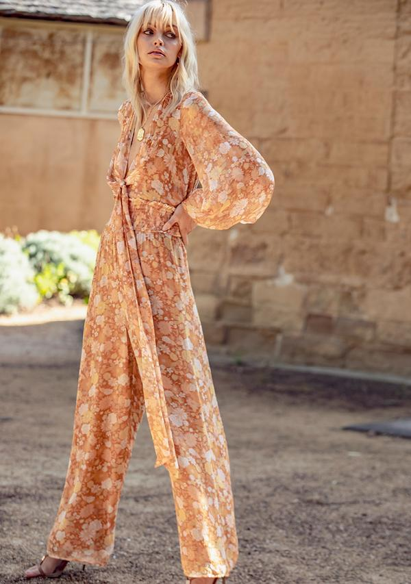 Ministry of Style Golden Hour Jumpsuit