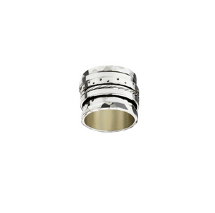 ICHU Sterling Silver Israeli Spinner Ring