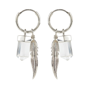 kyoti sale Gypsy Soul Charmed Earrings - Silver