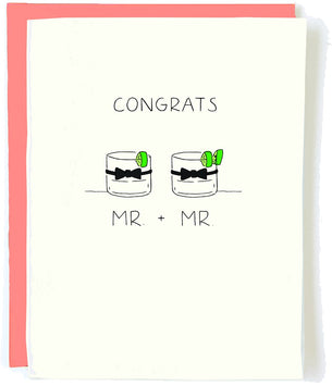 Congrats Mr and Mr