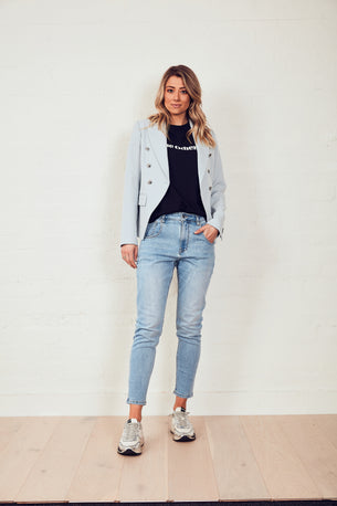 NEW IN! The Others Blazer - Dusty Blue
