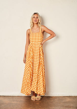 We Are The Others The Gingham Maxi Dress