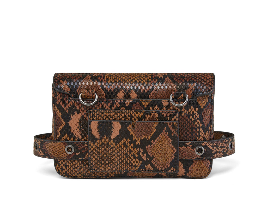 Freefall Belt Bag - Chocolate Snake