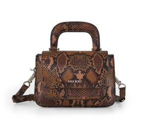 Sans Beast Reader Satchel - Chocolate Snake