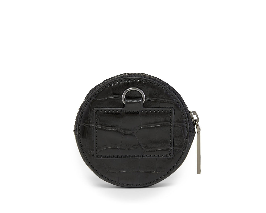 Full Circle Pouch - Noir Alligator