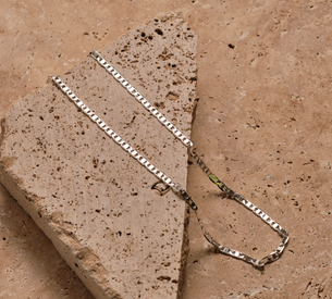 Elouise Chain - Polished Silver