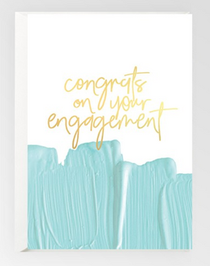 Congrats On Your Engagement (Foil)