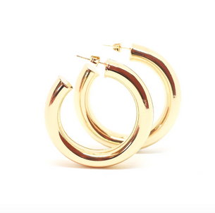 Cicciolina Hoops - 14K Gold Plated/Polished