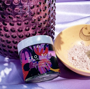 Organic Zeo Rose Face Mask/Exfoliant