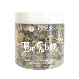 Salt & Glow Be Still Bath Tea