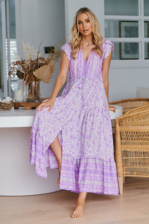 Jaase Melissa Maxi Dress - Violet
