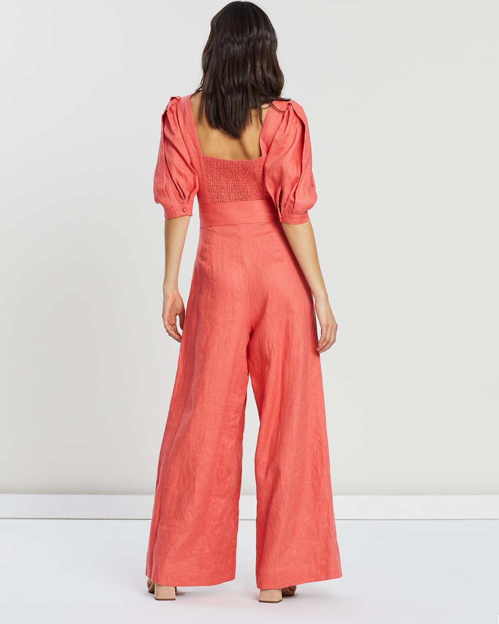 Ministry of Style Celia Jumpsuit - Rouge