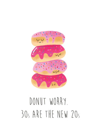 Charlie Fox Designs Donut Worry