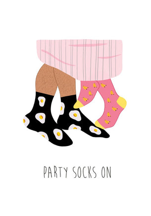 Charlie Fox Designs Party Socks