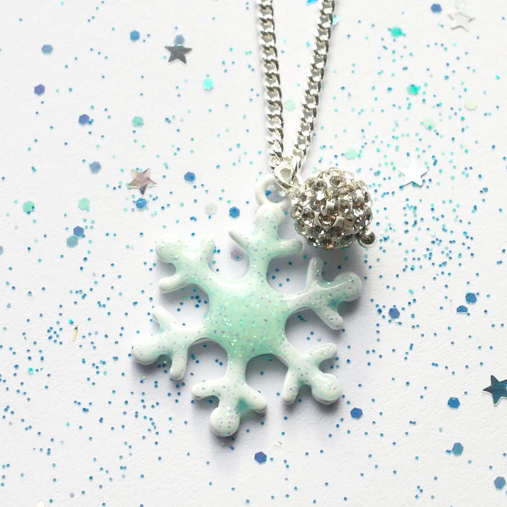 Snowflake 'Frozen' Necklace