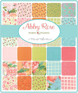 Abby Rose Collection Skinny Strips (one and a half inches) by Robbin Pickens for Moda