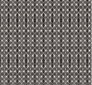 Love is Spoken Buds Black by Cori Dantini for Blend Fabrics