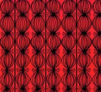 Load image into Gallery viewer, Love is Spoken Buds Red by Cori Dantini for Blend Fabrics