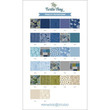 Load image into Gallery viewer, Turtle Bay 10 inch squares by Maywood Studio - Fabric and Frills