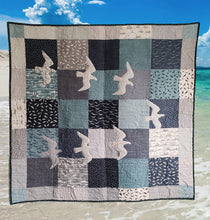 Load image into Gallery viewer, Great Gulls Quilt by Janet Claire - Layer Cake Friendly