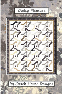 Guilty Pleasure Quilt Pattern by Coach House Designs