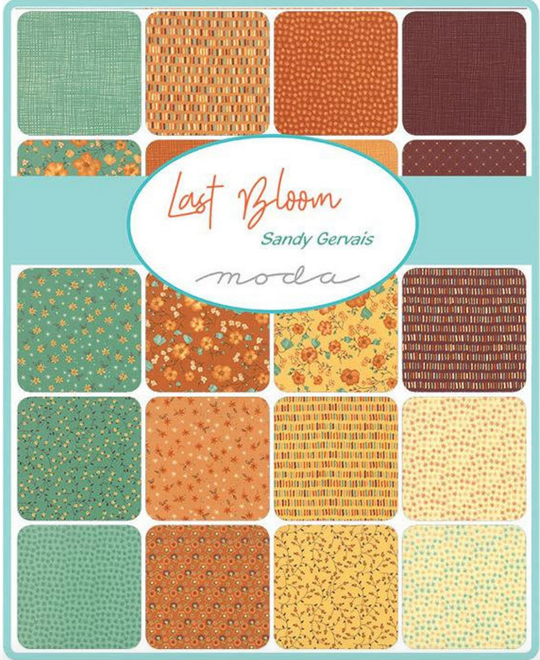 Last Bloom Quilt Kit by Sandy Gervais for Moda Fabrics - free pattern included! - Fabric and Frills