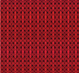 Love is Spoken Buds Red by Cori Dantini for Blend Fabrics