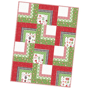 We Whisk You A Merry Christmas Precut Corner Cabin Quilt by Kimberbell