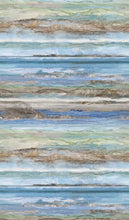 Load image into Gallery viewer, Swept Away Blue Multi-Stripe by Deborah Edwards and Melanie Samra