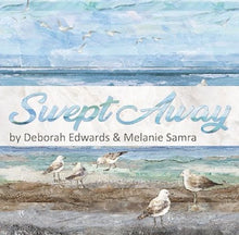 Load image into Gallery viewer, Swept Away Flying Gulls Blue by Deborah Edwards and Melanie Samra