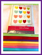 Load image into Gallery viewer, Tied with a Ribbon by Life is Sweet Quilt Kit-Pattern Included! - Fabric and Frills
