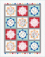Load image into Gallery viewer, Vintage Boardwalk Collection Beach Blanket Quilt Kit by Kimberbell for Maywood Studios - Fabric and Frills