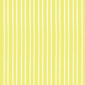 Marguerite - Lime Stripe Yardage - Fabric and Frills