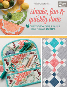 Simple Fun and Quickly Done - by Martingale Publishing - Fabric and Frills