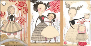 Love is Spoken Well Said Panel by Cori Dantini for Blend Fabrics