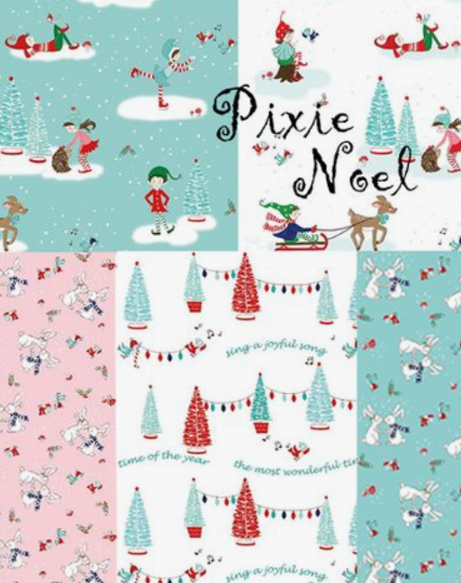 Kit Pixie Noel Table Runner and Simply Fun Book - Fabric and Frills