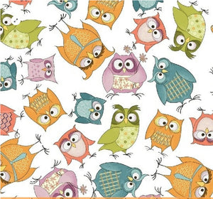 Whoo's Hoo -26  Fat Quarter Bundle by Terri Degenkolb for Windham - Fabric and Frills