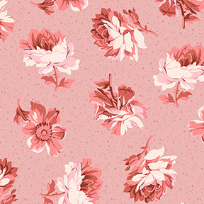 "Around The Roses 2 1/2"" Strips by Marcha McCloskey for Clothworks - Fabric and Frills"