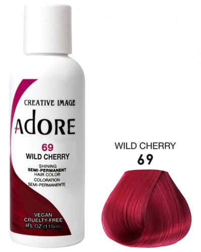 Adore - Coloration cheveux semi permanente Wild Cherry 69- 118ml