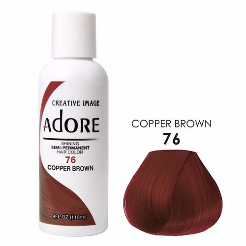 Adore - Coloration cheveux semi permanente Color Brown 76 - 118ml
