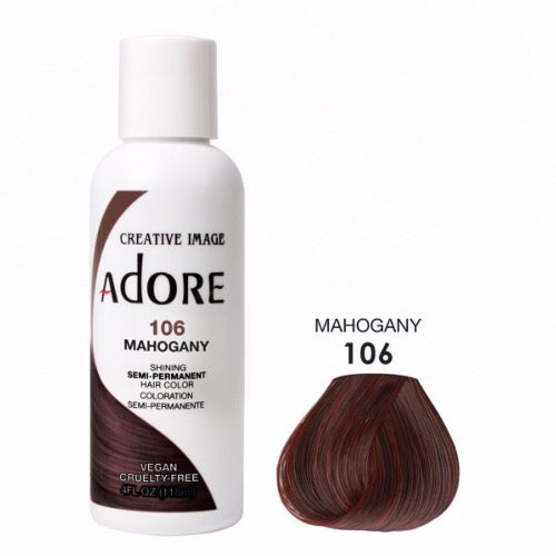 Adore - Coloration cheveux semi permanente  Mahogany 106 - 118ml