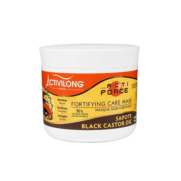 Activilong Actiforce Fortifying Mask - Masque Soin Fortifiant Beurre De Sapote & Huile De Carapate 240 ml