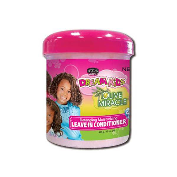 African Pride - Dream Kids - Leave in conditioner - Soin hydratant sans rinçage pour enfant 425 g