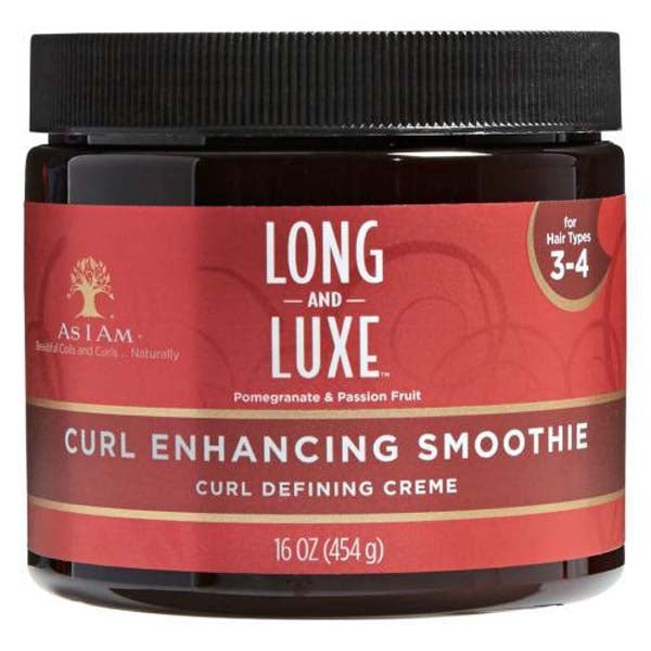 As I Am Long & Luxe Curl Enhancing Smoothie - Crème Coiffante Définition Boucles 454 g