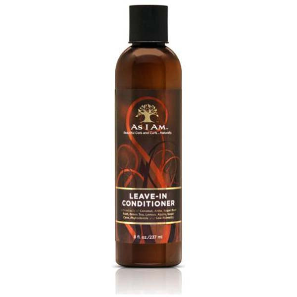 As I Am Leave In Conditioner - Soin sans rinçage Nourrissant riche en Noix de coco  237 ml