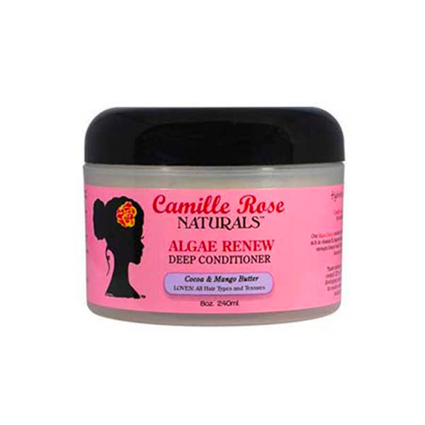 Camille Rose Naturals Renew Algae Deep Conditioner - Soin Hydratant Et Réparateur Riche en Algues Vertes et en Beurre de Mangues 240 ml