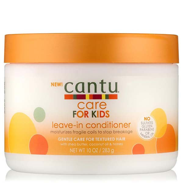 Cantu Shea Butter Kids Care Leave In Conditioner - Crème Nourrissante Au Coco Karité Et Miel Enfant 283 g