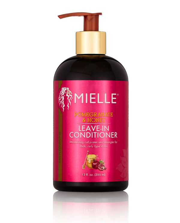 Mielle Organics Pomegranate & Honey Leave-In Conditioner - Soin sans rinçage riche en Miel et Grenade