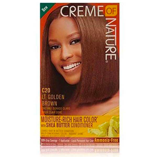 Creme Of Nature - Nourishing Permanent colors - Golden Brown