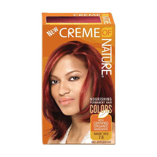 Creme Of Nature - Nourishing permanent colors - Raging red